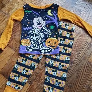 Mickey Halloween pajamas